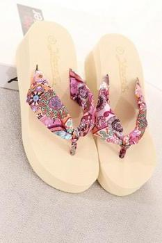Sandy beach shoes summer slippers - Beige