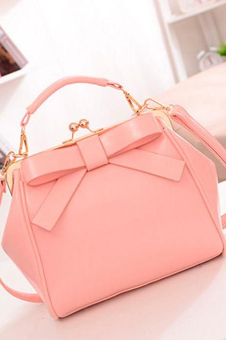 Fashion Bow Shoulder Bag Ladies Bags