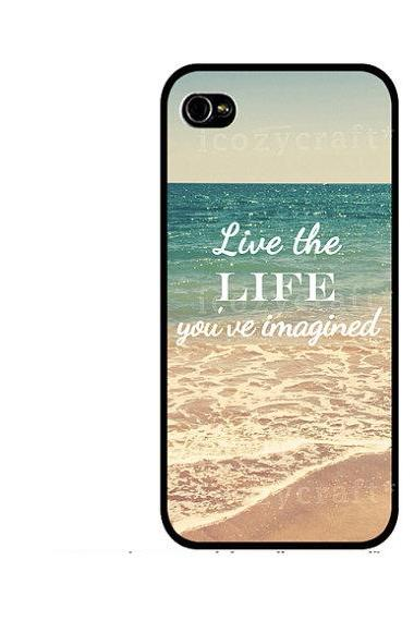 retro quote iphone 5 case, summer iphone 4 case, beach iphone 4s case, hipster galaxy s3 case, gift idea-129