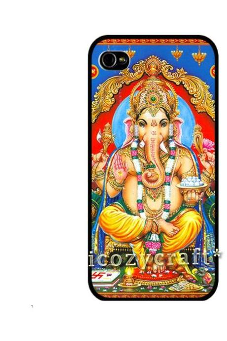 Ganesha iPhone case, boho iphone 5 case, hipster iPhone 4 case, indian iPhone 4s case, samsung galaxy s3 iPhone Case