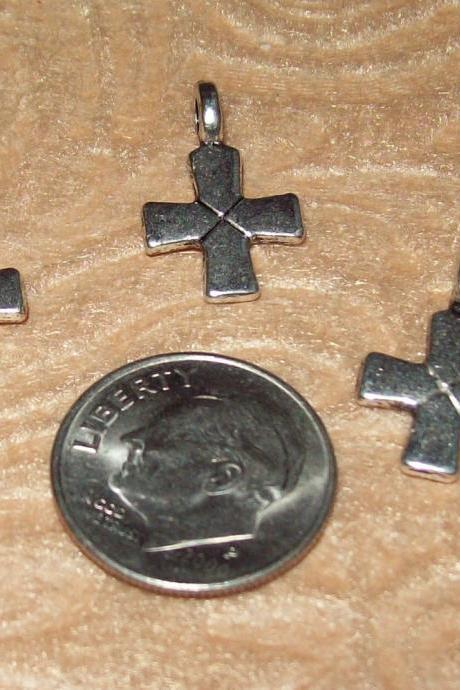 Shorty Cross Charms