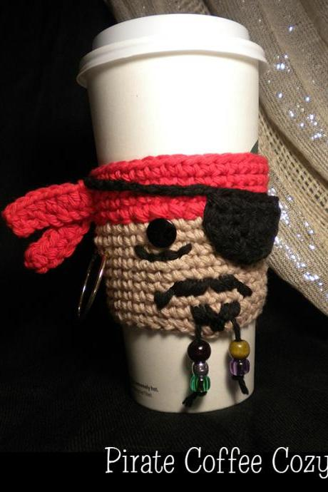 Pirate Coffee Cozy Pattern