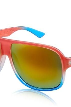 Kadishu 9031 Men's Trendy Sunglasses (Red)