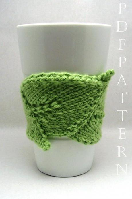 The Original Leaf Cuddler Knitting Pattern PDF Instant Download