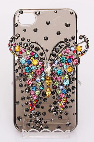 vintage butterfly case iphone 4/4s/5/5s/5c,samsung s3/s4 case, samsung note 2/note 3 case