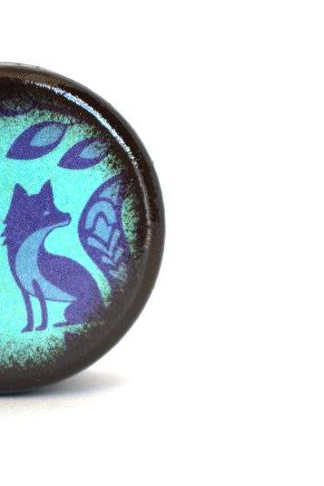 Blue Fox Pill Box