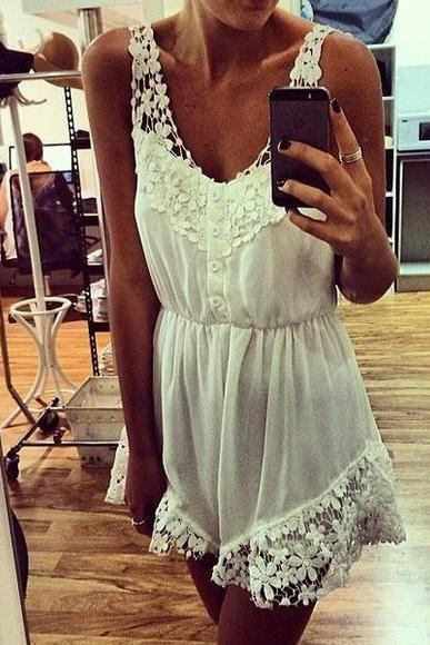 Sleeveless lace stitching jumpsuits #081902WY