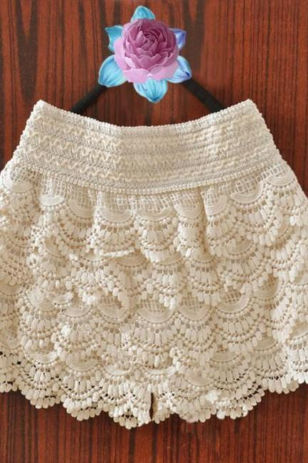 Wave tassel shorts #081703SD