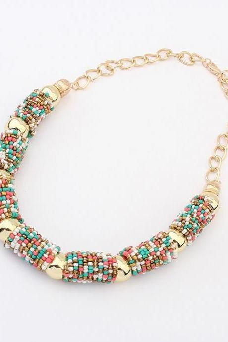 *FREE SHIPPING* Hot Selling European and American Bohemian Necklace Beads Handmad Necklaces & Pendants