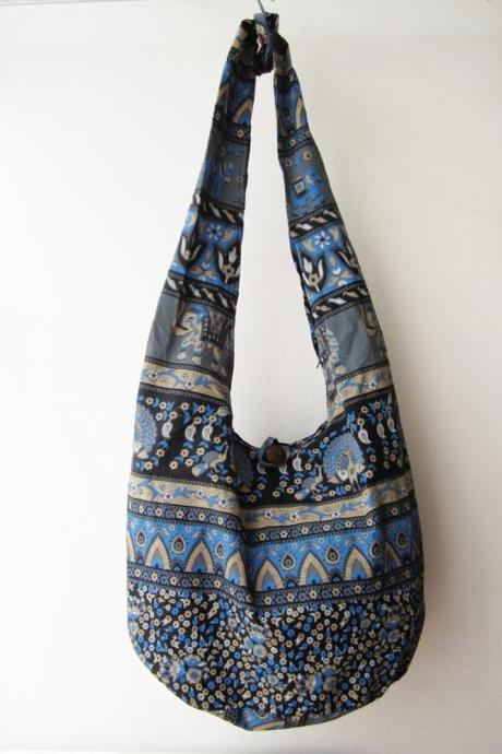 boho sling bag, hippie boho bag, hmong bag, hipster bag, tribal messenger bag,ethnic cross body bag,