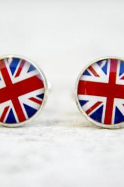 Union Jack Cufflinks, United Kingdom, UK, Britain, British Flag, History