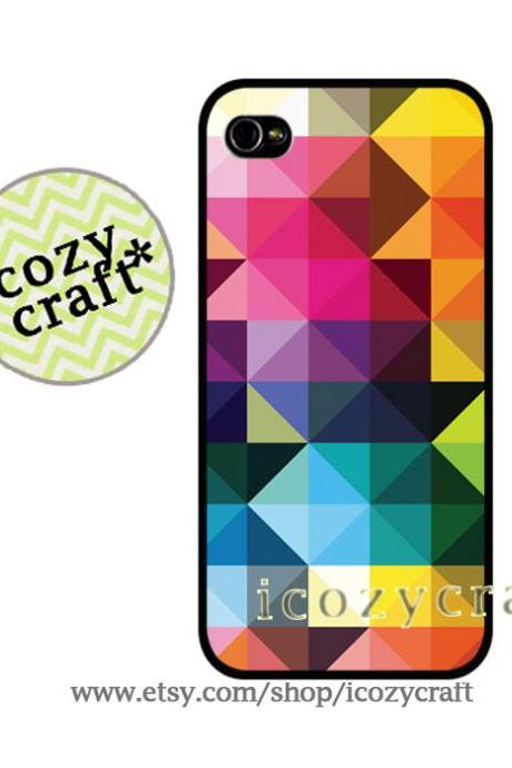 geometric iphone case, iphone cover, colorful, samsung galaxy s3 s4 case, hipster phone case