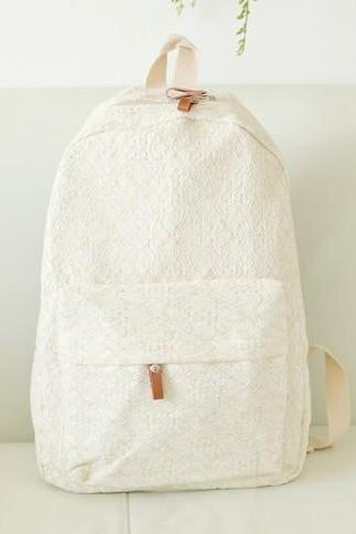 Pretty Lace Backpack, Backpack For Girls, Backpack for School