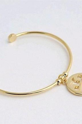 Modern, Simple, ToryBurch style Cuff, Bangle, Bracelet