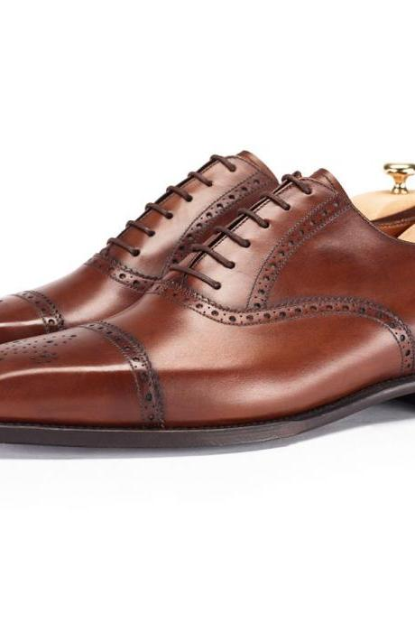 MEN HANDMADE DRESS SHOES, MENS HANDMADE LEATHER SHOES