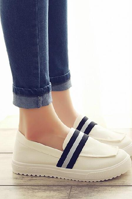 Heavy-bottomed casual canvas shoes AZ910EE