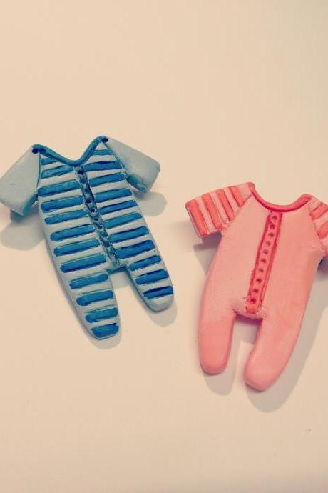 Twins Baby Brooch, Gemini Horoscope Star sign