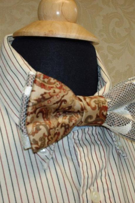 Custom Wedding Mens Bow Ties For Groom And Groomsmen
