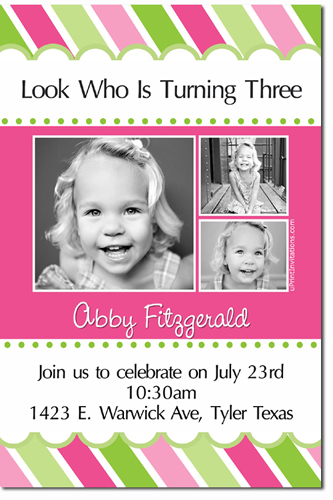 Girls Birthday Invitations (Download JPG Immediately)