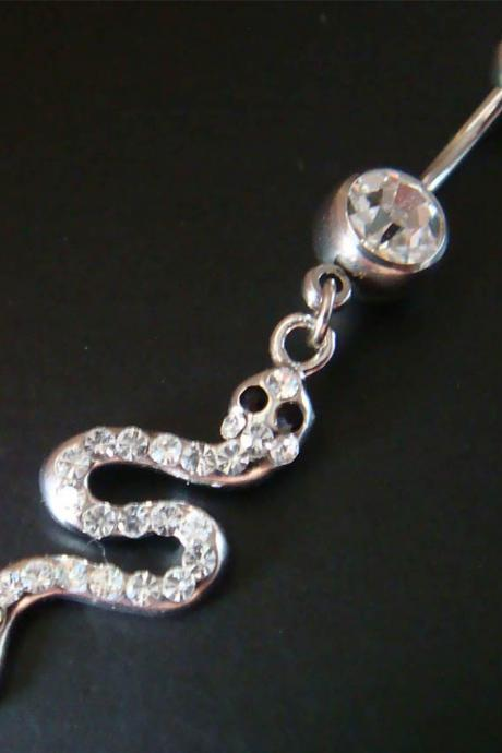Snake Belly Button Navel Rings Ring Bar Body Piercing Jewelry GIFT