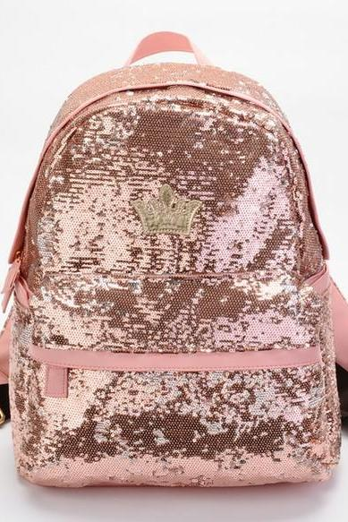 cute Fashion Sparkinng Unique Backpack Bag