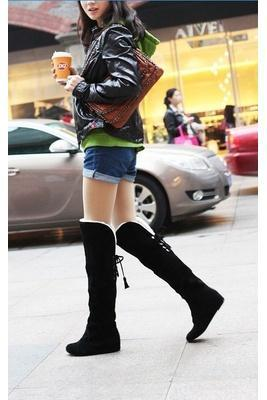 Tall Black Winter Boots