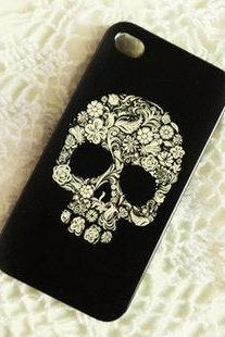 Punk skull iPhone case iPhone 4/4s pearl case iphone 4/4s cases