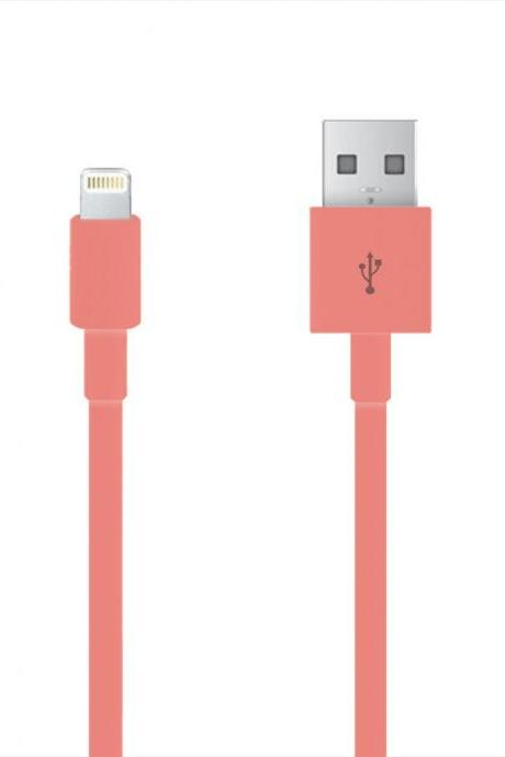 PINk iPhone 5/5S/5C/6 CE Certified Charging Cable!!!! Compatible With All iOS Systems!