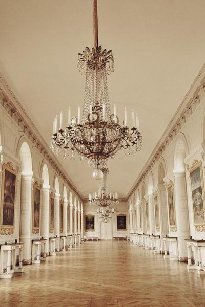Great Hall of Grand Trianon - Chateau Versailles - Paris - Fine Art Travel Photography 8x10