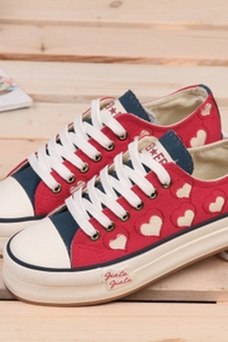 New 2015 Cute Canvas Shoes