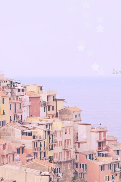 Lazy Summer Days - Cinque Terre - Italy - Fine Art Travel Photography 8x10'