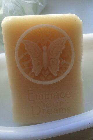 Gift Soaps in ultra-rich goats milk and our 7-oil blend, approximately 4 oz each, Orange Blossom & Honey