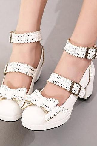 2014 New Arrival Cute Bow Shoes