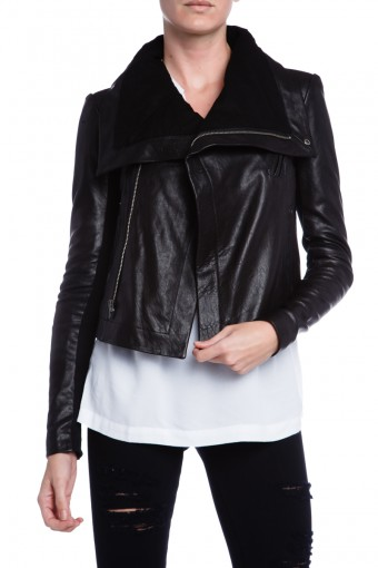 WOMENS BIKER LEATHER JACKET, LEATHER JACKET WIDE COLLAR, LEATHER JACKET WOMEN