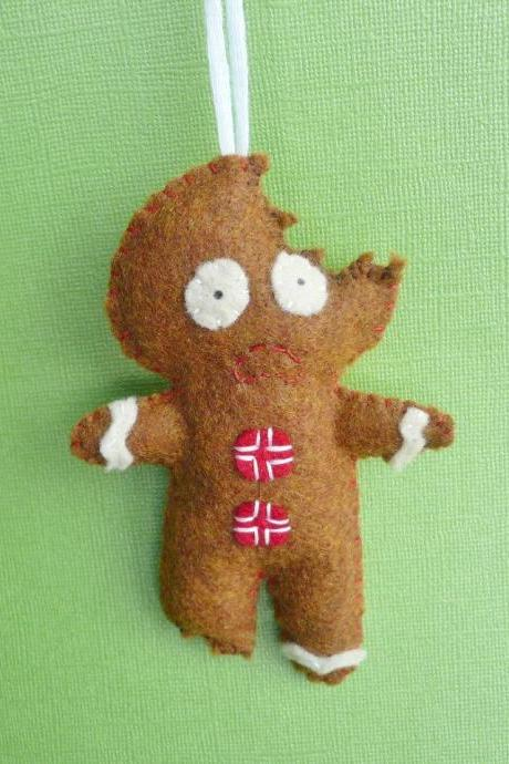 Funny Gingerbread Man ornament
