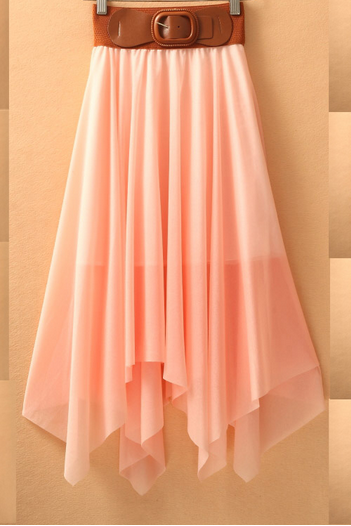 Charming Chiffon Skirt/Skirt 2014/Woman Skirt/Dresses/Dress 2014