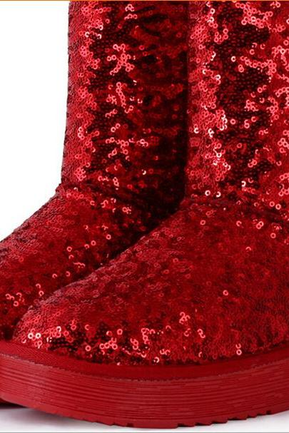 Sequinned Ugg / Winter Boots