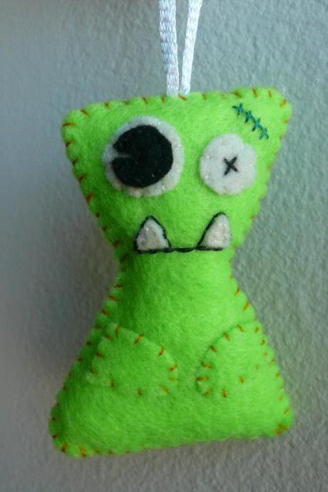 Plush Monster ornament