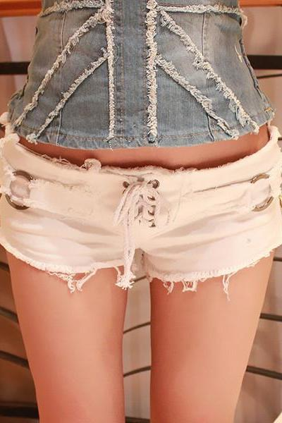 Sexy Jeans Shorts With Ds