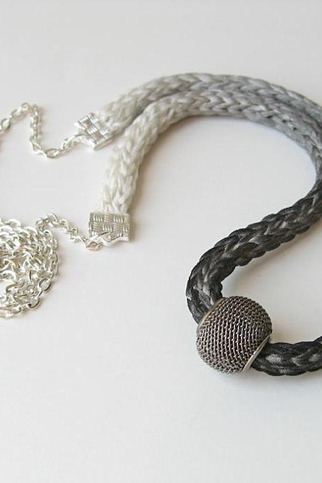 Charcoal Ombre Necklace