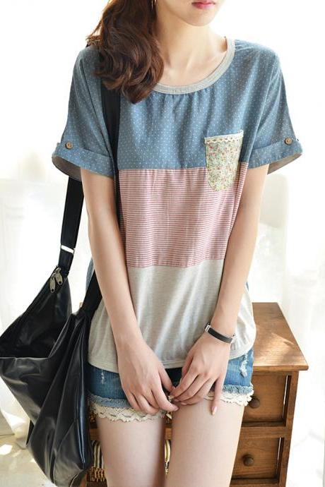 Simple And Comfortable T-shirt