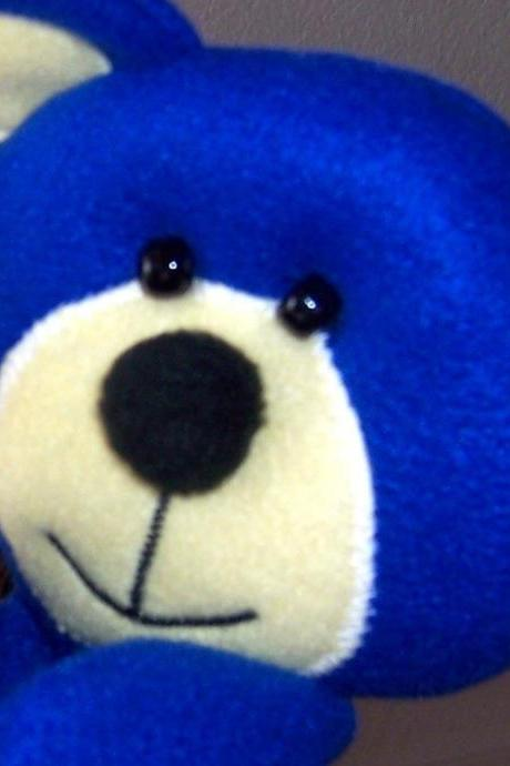 Bearly Blue Hand Puppet