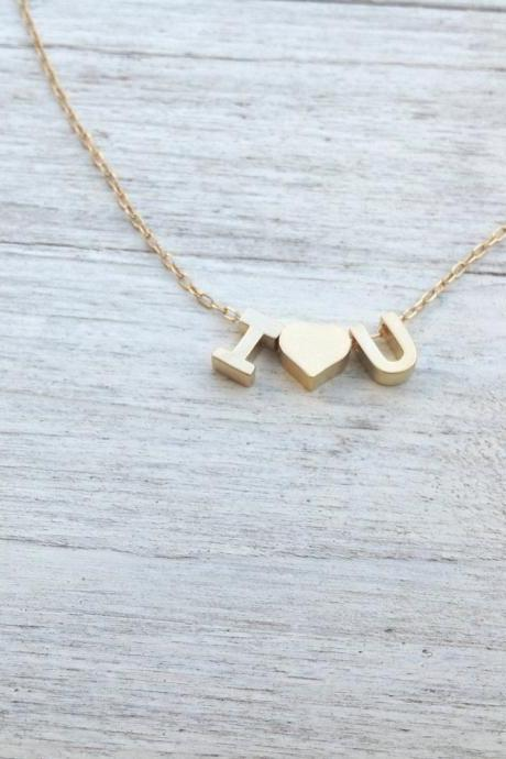 Initial necklace, gold filled love necklace, letter necklace, alfabet necklace, personalized necklace, monogram necklace,1 friendship A551