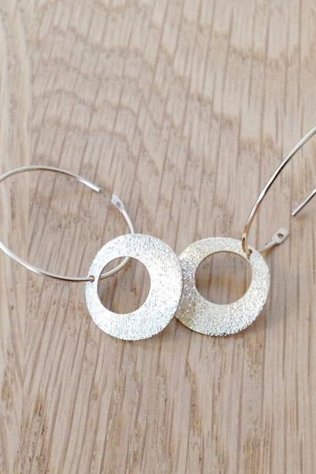 Gold earrings, hoop earring, circle earrings, dainty earrings,1everyday earrings F7