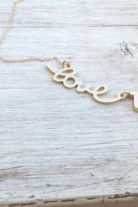 Initial necklace, gold initial charm necklace,letter necklace, personalized necklace, monogram necklace, 1bridesmaid A543