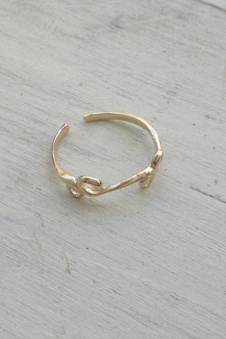 toe ring, gold foot ring, pinkie ring , stacking gold ring, gold ring, thin ring, stackable rings, foot ring A506