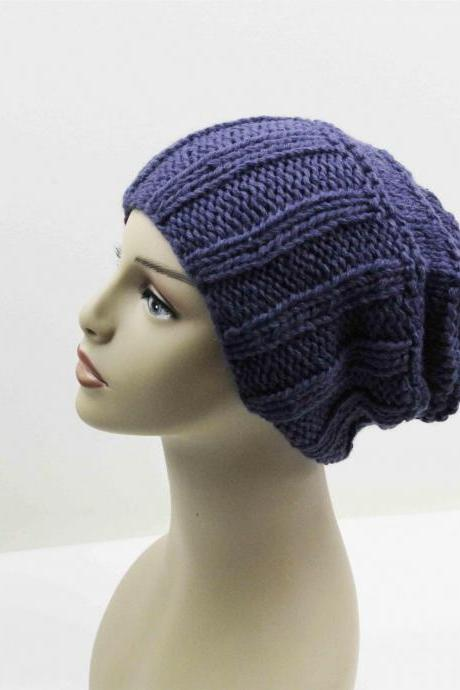 Slouchy Woman Handmade Knitting Hat Clothing Cap