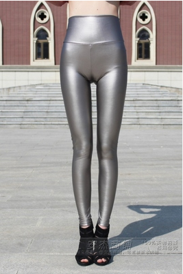 New Fall Winter 2014 Metallic Silver trouser