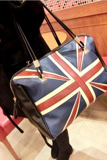 Flag Print Fashion Handbag 2013