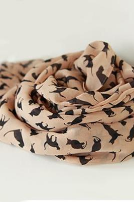 Little Cat Infinity Scarf